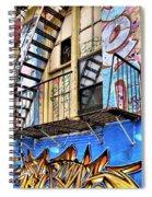 Graffiti Fire Spiral Notebook