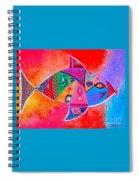 Graffiti Fish Spiral Notebook