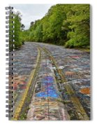 Graffiti Highway, Facing North Spiral Notebook
