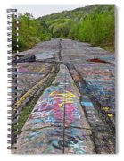 Graffiti Highway, Facing South Spiral Notebook