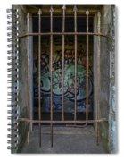 Graffiti Is Barred Spiral Notebook