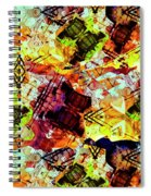 Graffiti Style - Markings On Colors Spiral Notebook