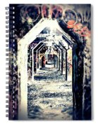 Graffiti Under Bridge Spiral Notebook