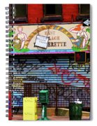 Graffiti Village Store Nyc Greenwich  Spiral Notebook