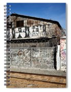Graffiti Wall Spiral Notebook