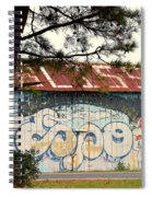 Grafitti One Spiral Notebook