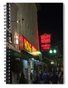 Grafton Street Pub And The Hong Kong In Harvard Square Cambridge Ma Spiral Notebook