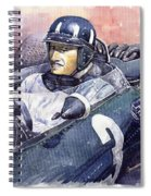 Graham Hill Brm P261 1965 Spiral Notebook