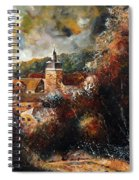 Graide Village Belgium Spiral Notebook