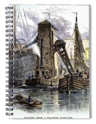 Grain Elevator, 1877 Spiral Notebook