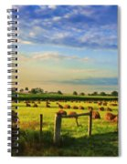 Grain In The Field Spiral Notebook