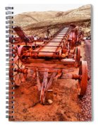 Grain Sack Loader Spiral Notebook