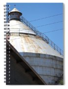 Grain Silo In Roswell Spiral Notebook