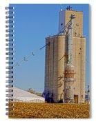 Grain Storage Hdr No1 Spiral Notebook