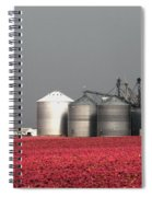 Grain Storage Infrared No1 Spiral Notebook