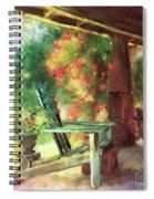 Gramma's Front Porch Spiral Notebook