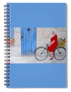 Gran In Provence Spiral Notebook