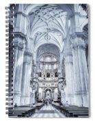 Granada Cathedral Interior Spiral Notebook