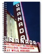 Granada Theater Spiral Notebook