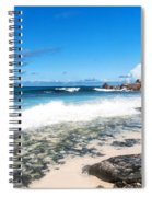 Grand Anse Beach Spiral Notebook