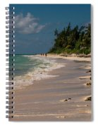Grand Bahamas Beach Spiral Notebook