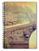Grand Canal Bridge Suzhou Spiral Notebook