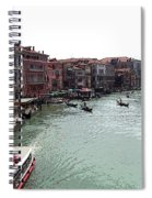 Grand Canal Venice Italy Spiral Notebook