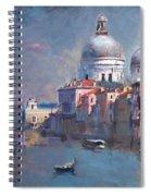 Grand Canal Venice Spiral Notebook