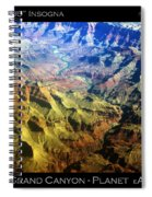 Grand Canyon Aerial View Spiral Notebook