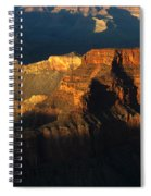 Grand Canyon Arizona Light And Shadow 2 Spiral Notebook