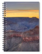 Shimmering Warmth In Panoramic Spiral Notebook