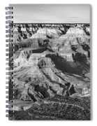 Layers Of Time In The Grand Canyon Spiral Notebook