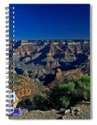 Grand Canyon Meditation Spiral Notebook