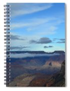 Grand Canyon Moonrise Spiral Notebook