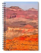 Grand Canyon National Park Summer Spiral Notebook