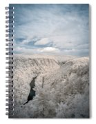 Grand Canyon Of Pa In Infrared Spiral Notebook