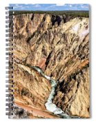 Grand Canyon Of The Yellowstone 1 Spiral Notebook