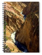 Grand Canyon Of The Yellowstone 2 Spiral Notebook