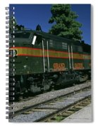 Grand Canyon Railway Train Spiral Notebook