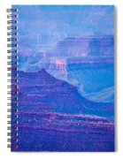 Grand Canyon Sunny Day With Blue Sky Spiral Notebook