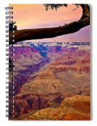 Grand Canyon Sunset Spiral Notebook