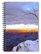 Grand Canyon Sunset Spiral Notebook