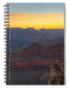 Grand Canyon Twilght Spiral Notebook