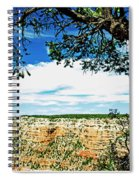 Grand Canyon View From South Rim Overlook Spiral Notebook