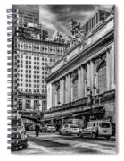 Grand Central At 42nd St - Mono Spiral Notebook
