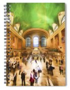 Grand Central Rush     Go2 Spiral Notebook