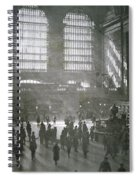 Grand Central Station, New York City, 1925 Spiral Notebook