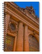 Grand Central Terminal - Chrysler Building Spiral Notebook