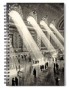 Grand Central Terminal, New York In The Thirties Spiral Notebook