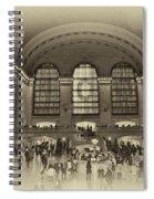 Grand Central Terminal Vintage Spiral Notebook